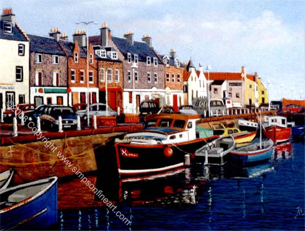 Along The Waterfront, Anstruther Harbour