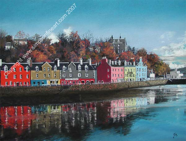 Autumn over the Waterfront, Tobermory, The Isle of Mull