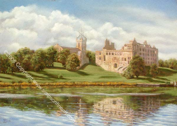 A Bright Sunny Day, Linlithgow Palace