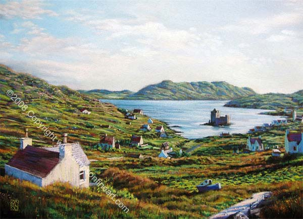 Castle Bay, The Isle Of Barra