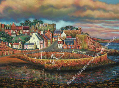Crail Harbour, Fife