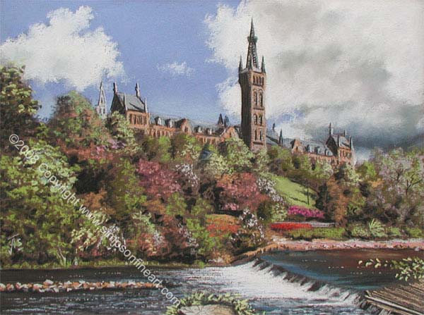 Down By The Kelvin, Glasgow University