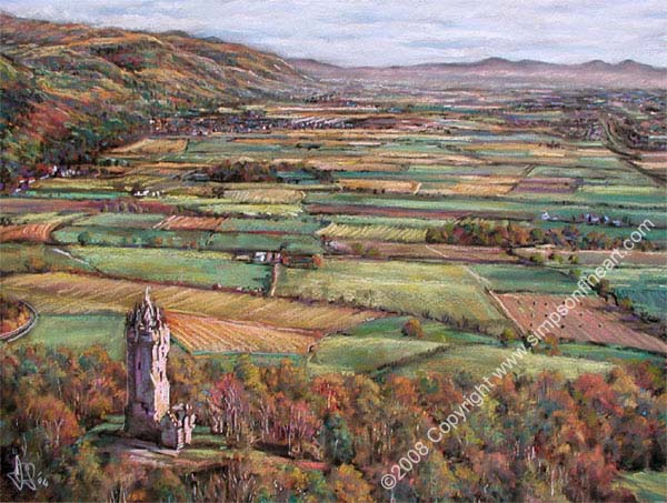 Early Autumn, The Wallace Monument