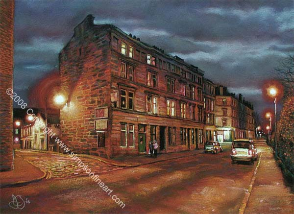 Early Evening, Otago Street, Glasgow