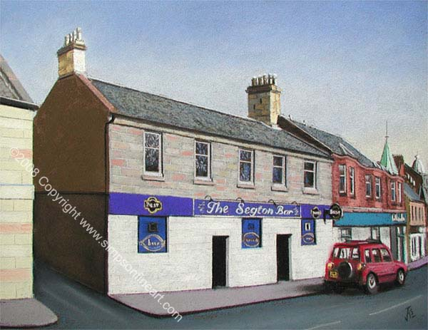 Early Morning, The Segton Bar, Coatbridge