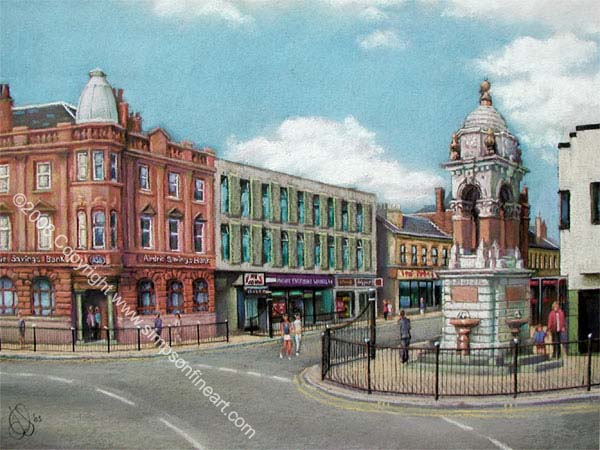 The Fountain, Main Street, Coatbridge