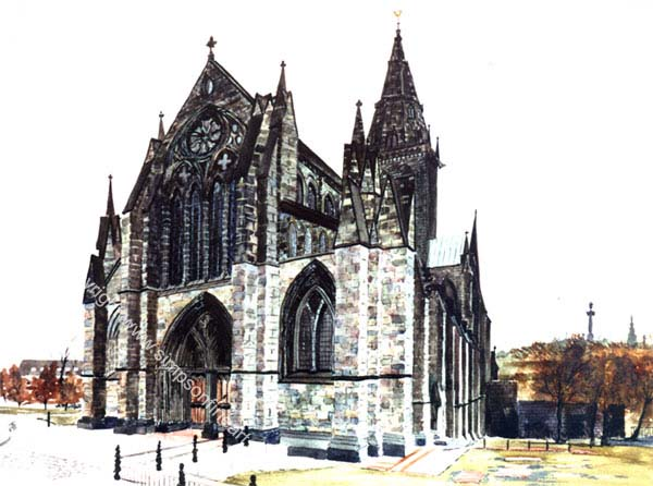 Glasgow Cathedral, Autumn