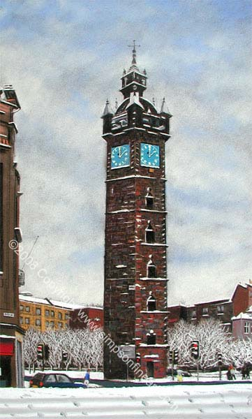 Glasgow Tolbooth In Snow