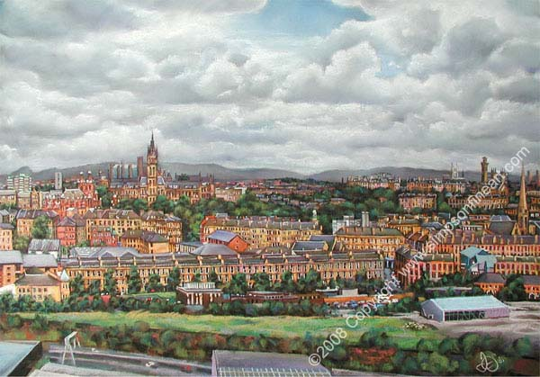 Glasgow's West End From Finnieston