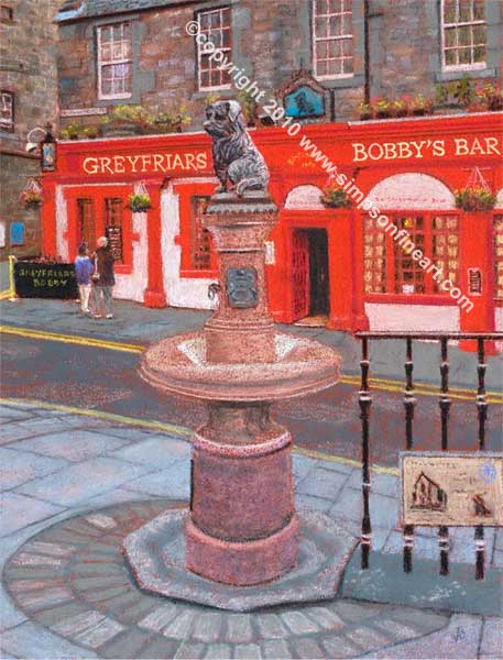 Greyfriars Bobby, Candlemaker Row
