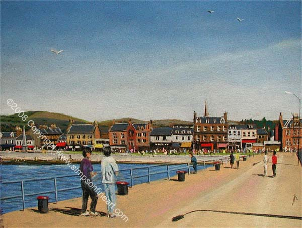Helensburgh From The Pier