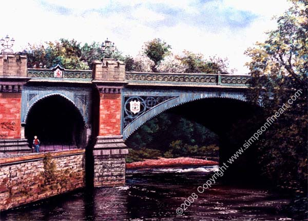 Kelvin Bridge, Glasgow