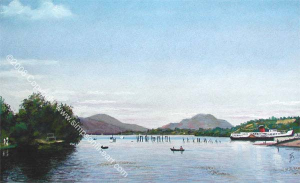 Loch Lomond From The Shores