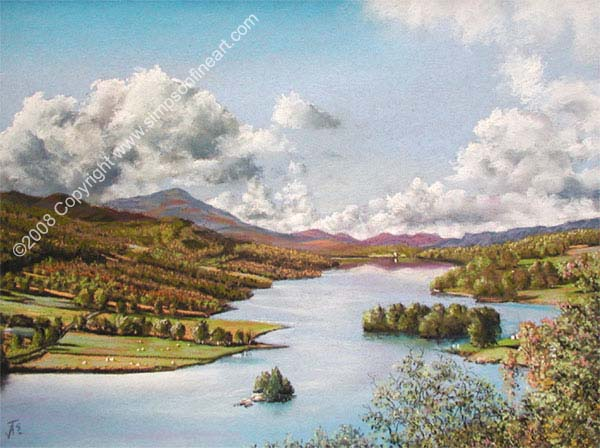 Loch Tummel & Schiehallion From Queen's View