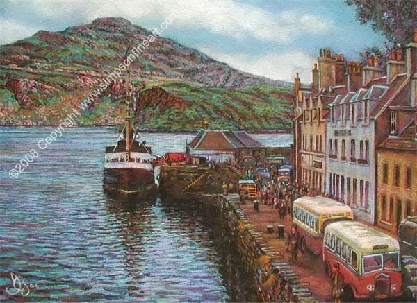 Portree Harbour, The Isle Of Skye