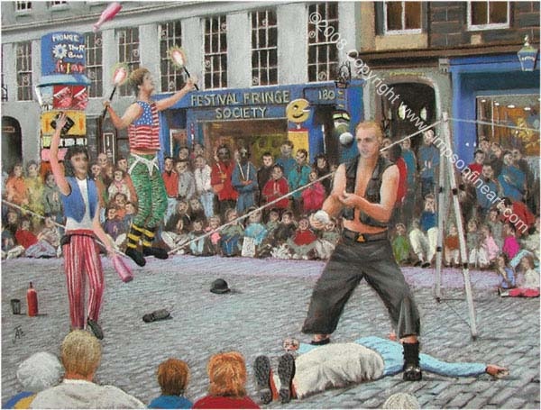 Street Performers, The Edinburgh Festival