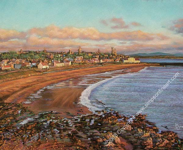 Sunrise Over The East Sands, St Andrews