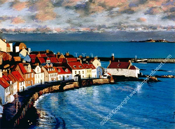 Sunset, Pittenweem Harbour