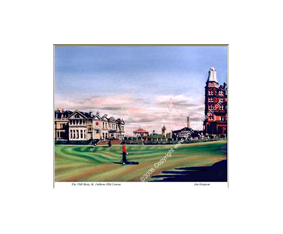 The 18th Hole, St Andrews Old Course
