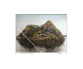 Dumbarton Rock From The River Leven