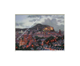 Early Evening Over Arthur's Seat & Edinburgh Castle