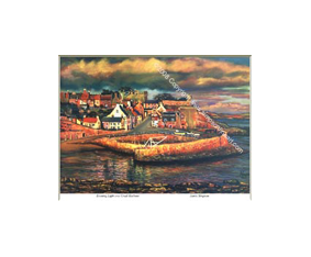 Evening Light, Crail Harbour