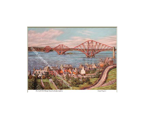 Forth Rail Bridge From South Queensferry