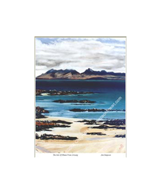The Isle Of Rhum From Arisaig