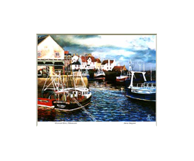 Overcast Skies, Pittenweem Harbour, Fife