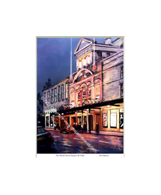 The Theatre Royal, Glasgow By Night