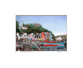 Tobermory Harbour, The Isle of Mull