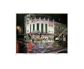 A Wet Night, The Renfield Street Odeon, Glasgow